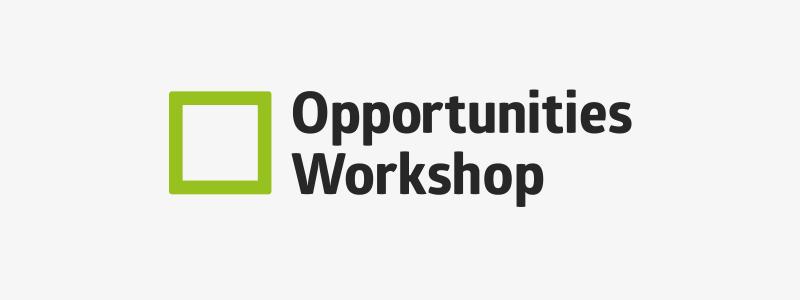 Logo design for Opportunities Workshop in Ipswich, Suffolk.