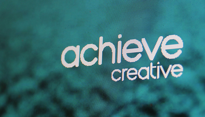 Logo design for Achieve Creative Freelance Graphic Designer in Essex.