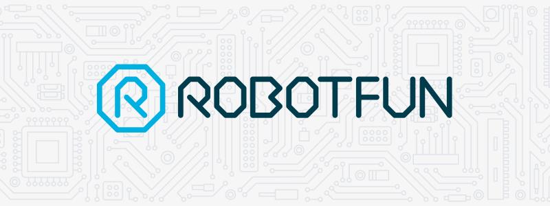 Logo design for RobotFun in Ipswich, Suffolk.