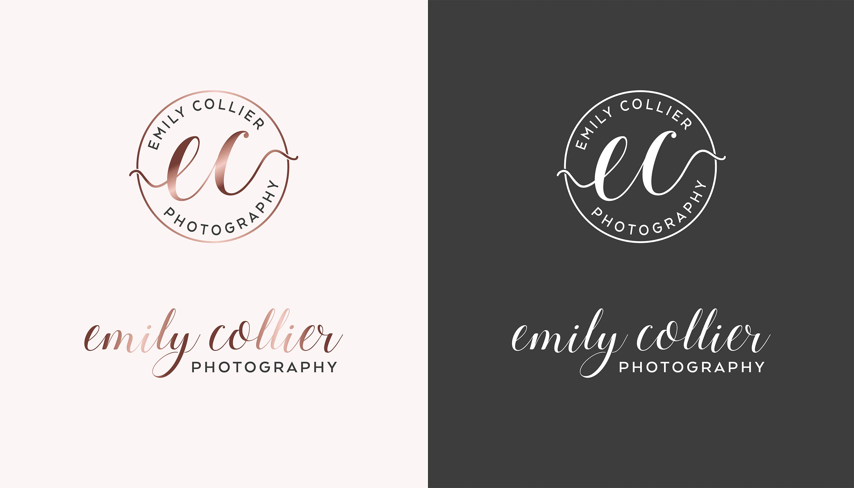 Logo design for EC Photography in Harwich, Essex.