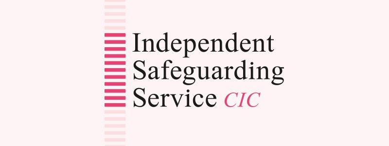 Logo design for Independent Safeguarding Service CIC, in London.